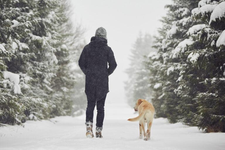 Happy Woman Winter